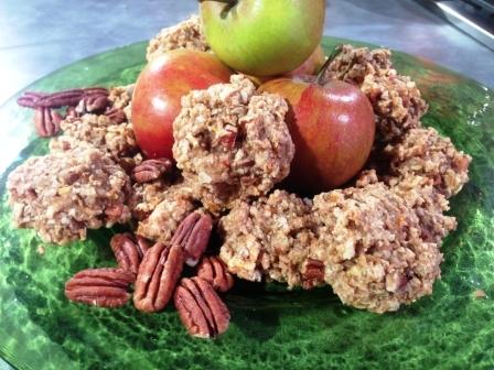 Apple and Pecan Cookies
